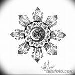 Фото эскизы тату круг от 17.09.2018 №108 - sketching circle tattoo - tatufoto.com