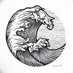 Фото эскизы тату круг от 17.09.2018 №138 - sketching circle tattoo - tatufoto.com