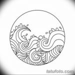Фото эскизы тату круг от 17.09.2018 №144 - sketching circle tattoo - tatufoto.com