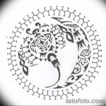Фото эскизы тату круг от 17.09.2018 №150 - sketching circle tattoo - tatufoto.com