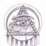Фото эскизы тату круг от 17.09.2018 №151 - sketching circle tattoo - tatufoto.com
