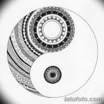 Фото эскизы тату круг от 17.09.2018 №173 - sketching circle tattoo - tatufoto.com