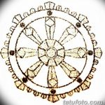 Фото эскизы тату круг от 17.09.2018 №182 - sketching circle tattoo - tatufoto.com