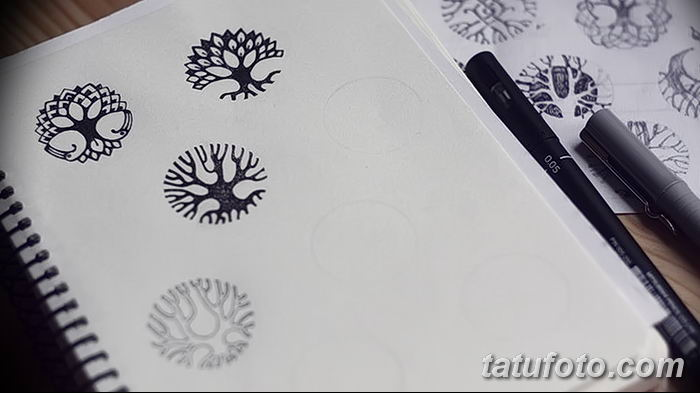 Фото эскизы тату круг от 17.09.2018 №203 - sketching circle tattoo - tatufoto.com