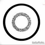 Фото эскизы тату круг от 17.09.2018 №209 - sketching circle tattoo - tatufoto.com