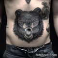 Фото тату с медведем от 12.09.2018 №192 - tattoo with a bear - tatufoto.com