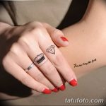 Фото Тату бриллиант от 02.10.2018 №003 - Diamond tattoo - tatufoto.com