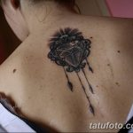 Фото Тату бриллиант от 02.10.2018 №004 - Diamond tattoo - tatufoto.com
