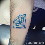 Фото Тату бриллиант от 02.10.2018 №005 - Diamond tattoo - tatufoto.com