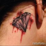 Фото Тату бриллиант от 02.10.2018 №018 - Diamond tattoo - tatufoto.com