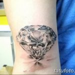 Фото Тату бриллиант от 02.10.2018 №019 - Diamond tattoo - tatufoto.com