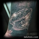 Фото Тату бриллиант от 02.10.2018 №037 - Diamond tattoo - tatufoto.com