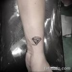 Фото Тату бриллиант от 02.10.2018 №124 - Diamond tattoo - tatufoto.com