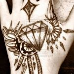 hand tattoo designs Unique Tattoo Design Tribal Diamond Tattoo D