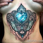Фото Тату бриллиант от 02.10.2018 №139 - Diamond tattoo - tatufoto.com