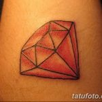 Фото Тату бриллиант от 02.10.2018 №157 - Diamond tattoo - tatufoto.com