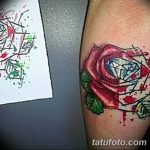 Фото Тату бриллиант от 02.10.2018 №167 - Diamond tattoo - tatufoto.com