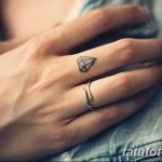 Фото Тату бриллиант от 02.10.2018 №168 - Diamond tattoo - tatufoto.com