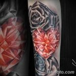 Фото Тату бриллиант от 02.10.2018 №174 - Diamond tattoo - tatufoto.com