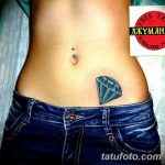 Фото Тату бриллиант от 02.10.2018 №189 - Diamond tattoo - tatufoto.com