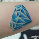 Фото Тату бриллиант от 02.10.2018 №190 - Diamond tattoo - tatufoto.com