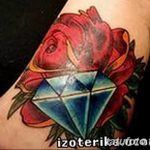 Фото Тату бриллиант от 02.10.2018 №191 - Diamond tattoo - tatufoto.com