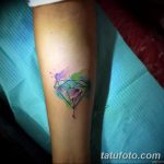 Фото Тату бриллиант от 02.10.2018 №198 - Diamond tattoo - tatufoto.com