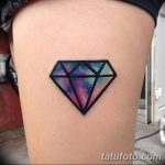 Фото Тату бриллиант от 02.10.2018 №202 - Diamond tattoo - tatufoto.com
