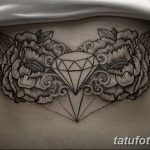 Фото Тату бриллиант от 02.10.2018 №205 - Diamond tattoo - tatufoto.com
