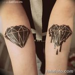 Фото Тату бриллиант от 02.10.2018 №219 - Diamond tattoo - tatufoto.com