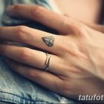 Фото Тату бриллиант от 02.10.2018 №230 - Diamond tattoo - tatufoto.com