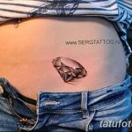 Фото Тату бриллиант от 02.10.2018 №236 - Diamond tattoo - tatufoto.com