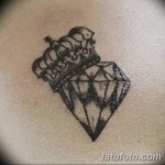 Фото Тату бриллиант от 02.10.2018 №269 - Diamond tattoo - tatufoto.com