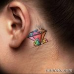 Фото Тату бриллиант от 02.10.2018 №285 - Diamond tattoo - tatufoto.com