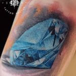Фото Тату бриллиант от 02.10.2018 №313 - Diamond tattoo - tatufoto.com
