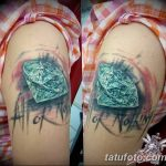 Фото Тату бриллиант от 02.10.2018 №314 - Diamond tattoo - tatufoto.com