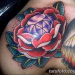 Фото Тату бриллиант от 02.10.2018 №316 - Diamond tattoo - tatufoto.com