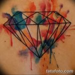 Фото Тату бриллиант от 02.10.2018 №318 - Diamond tattoo - tatufoto.com