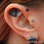 Фото Тату бриллиант от 02.10.2018 №320 - Diamond tattoo - tatufoto.com