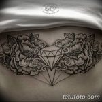 Фото Тату бриллиант от 02.10.2018 №323 - Diamond tattoo - tatufoto.com