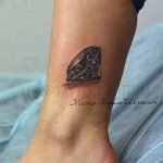 Фото Тату бриллиант от 02.10.2018 №324 - Diamond tattoo - tatufoto.com