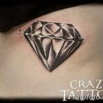 Фото Тату бриллиант от 02.10.2018 №328 - Diamond tattoo - tatufoto.com