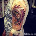 Фото заживление тату 09.10.2018 №011 - healing tattoo - tatufoto.com