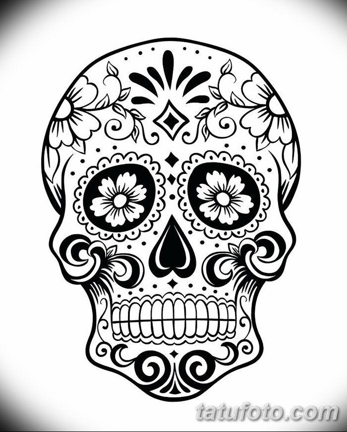 Разукрашенные черепа картинки и их значение