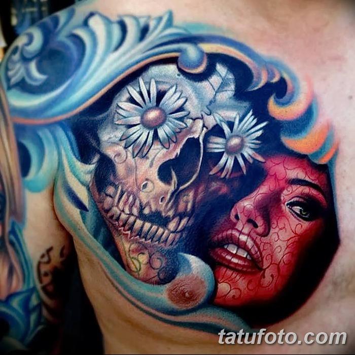 Значение тату «Сахарный череп»