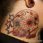 Фото рисунка Сахарный череп тату 30.10.2018 №188 - Sugar Skull Tattoo - tatufoto.com