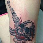 Фото рисунка Татуировки АК-47 29.10.2018 №003 - Tattoo AK-47 - tatufoto.com