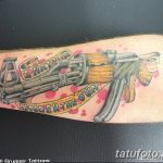 Фото рисунка Татуировки АК-47 29.10.2018 №024 - Tattoo AK-47 - tatufoto.com