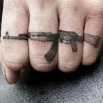 Фото рисунка Татуировки АК-47 29.10.2018 №025 - Tattoo AK-47 - tatufoto.com