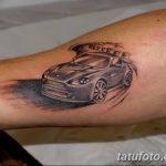 Фото рисунка татуировки автомобиль 29.10.2018 №023 - tattoo car drawing - tatufoto.com